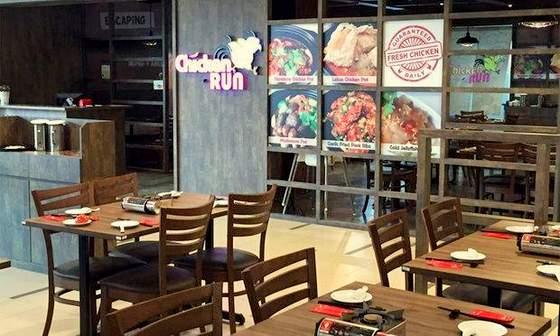 Chicken Run restaurant at Paya Lebar Square, Singapore.