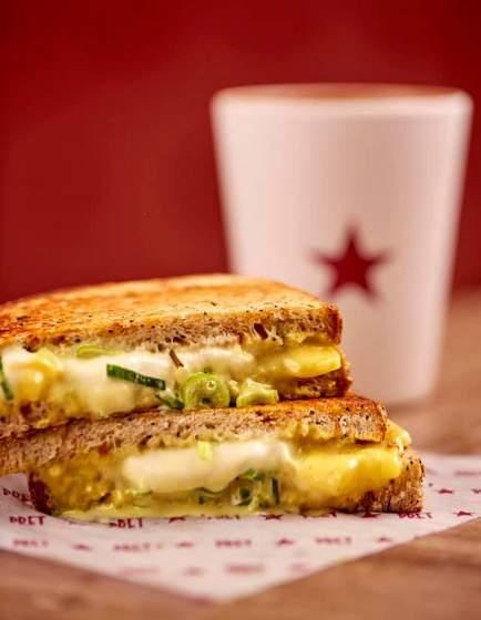 Classic Cheese Toastie.