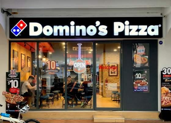 Domino's Pizza Singapore.