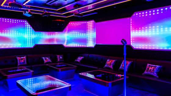 HaveFun Karaoke VIP Room.