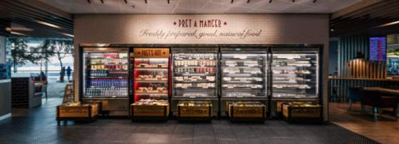 Pret A Manger Singapore - Best Sandwich Shops in Singapore - Changi Airport Terminal 3.