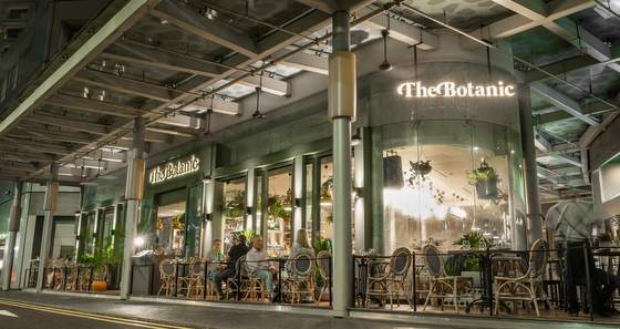 The Botanic restaurant in Singapore.