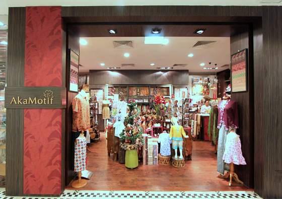 AkaMotif - Batif Fabrics in Singapore - Tanglin Mall.