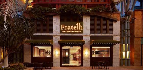 Fratelli Trattoria - Italian Restaurants in Singapore - Resorts World Sentosa.