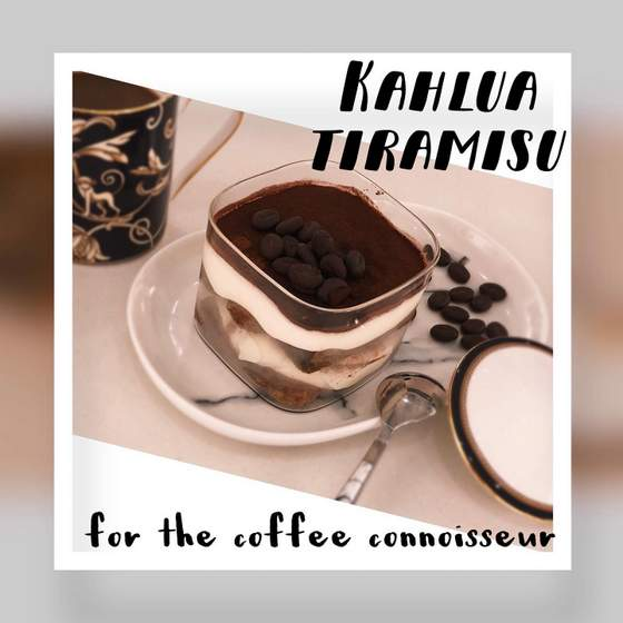 All About Tiramisu - Kahlua Tiramisu.