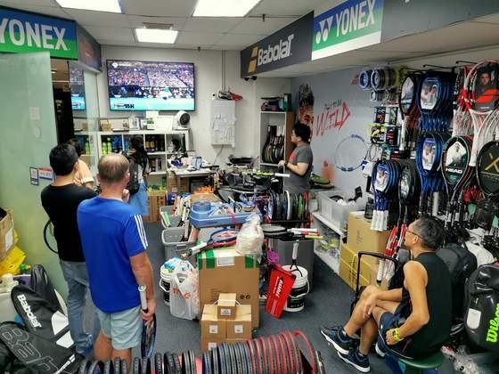 Leisure Sports Singapore - Tennis Shops in Singapore - Far East Shopping Centre.