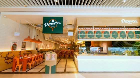 Peperoni Pizzeria - Pizza Restaurants in Singapore - Suntec City.