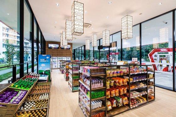 Sinopec convenience store.
