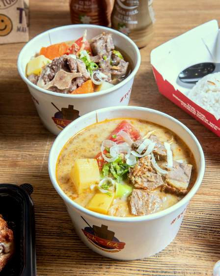 Soto Betawi and Sup Buntut Delivery.