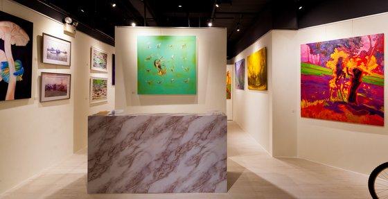 Art Village art gallery at West Coast Plaza Singapore.