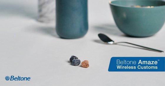 Beltone Amaze Custom Hearing Aids.