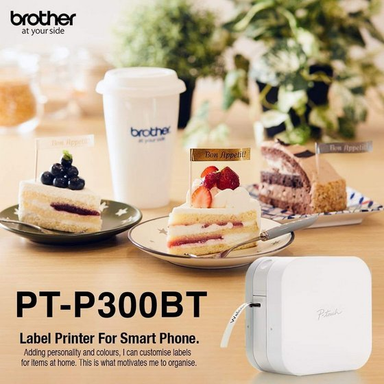 Brother PT-P300BT Label Printer for Smart Phone.