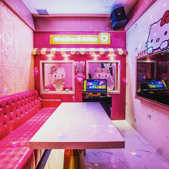 Hello Kitty Themed Karaoke Singapore.