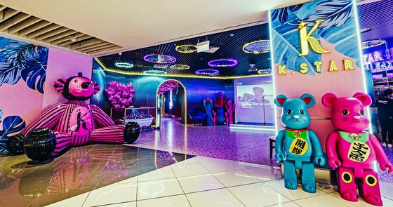 K Star Karaoke - Themed Karaoke Places in Singapore - Suntec City.