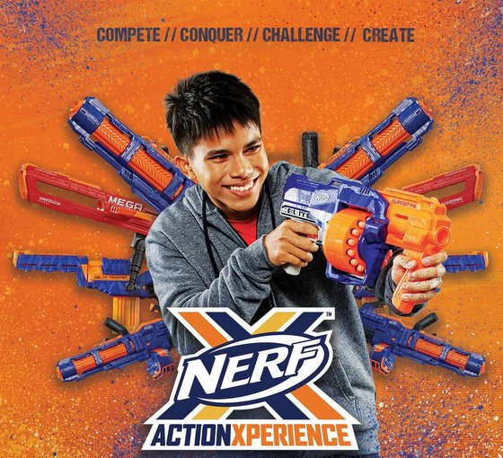 NERF Action Xperience - Nerf Gun Game in Singapore.