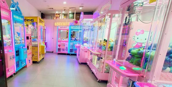 Beebit - Claw Machine Games in Singapore- Sembawang Shopping Centre.