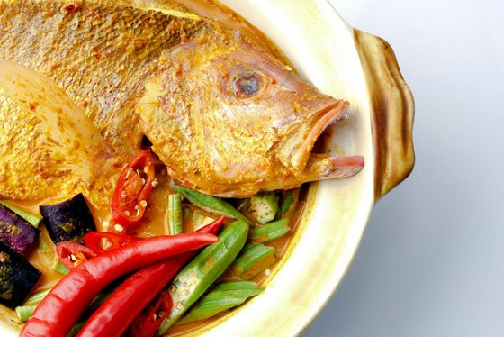 Curry Fish Head - West Co'z Café - Tze Char Restaurant in Singapore.