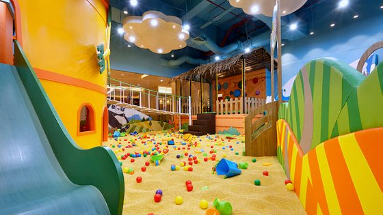 Jolly Fields by ZOOMOOV - Kids Playground Singapore.