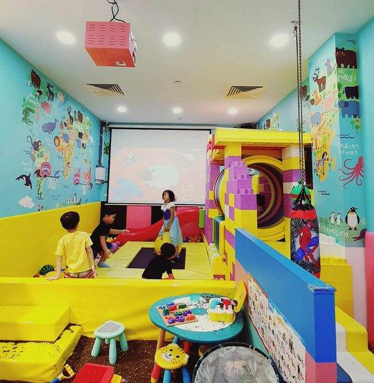 Kids Indoor Playground in Singapore - Kidzah Island - Sembawang Shopping Centre.
