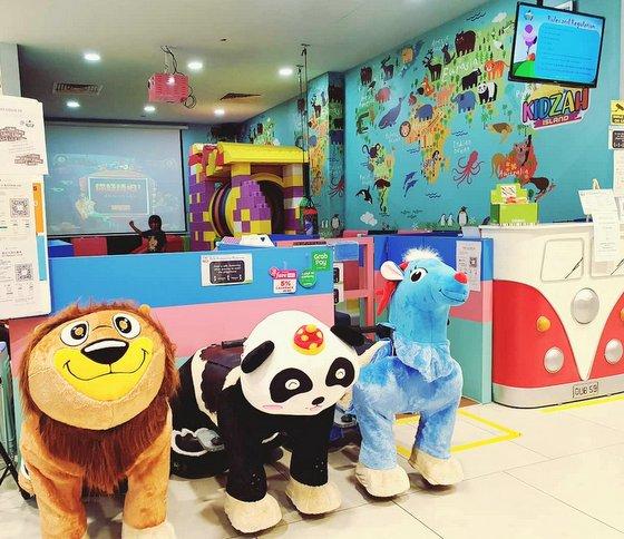 Kidzah Island - Play Area for Kids in Singapore - Sembawang Shopping Centre.