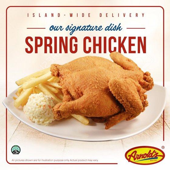 Arnold S Fried Chicken Restaurants In Singapore Shopsinsg