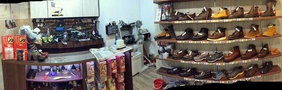 WingSeed shoe repair in Singapore.
