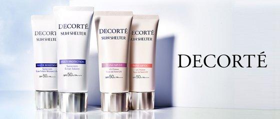 Decorté Sun Shelter Suncreen - Japanese Luxury Skincare Brands in Singapore.