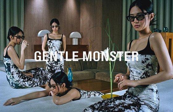 Gentle Monster x Jennie of BLACKPINK.