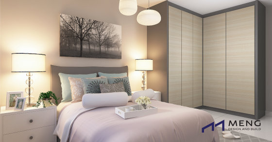 Interior Design in Singapore - Bedroom - Meng Design and Build.