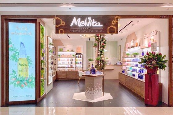 Melvita - Organic Cosmetics in Singapore - ION Orchard.