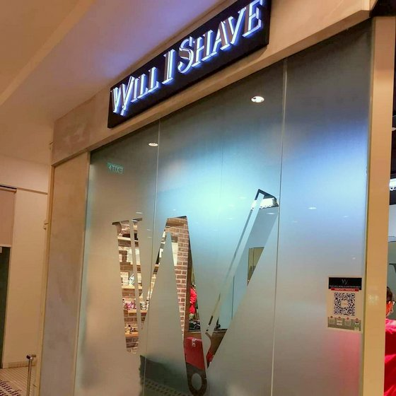 Will I Shave - Good Barber in Singapore - Tanglin Mall.