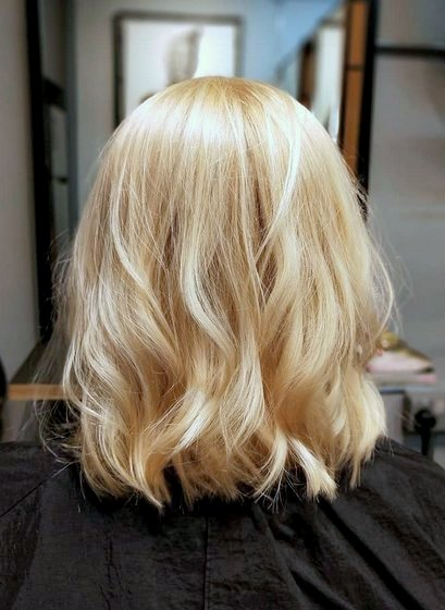 Blonde Highlights in Singapore - The Hair Lounge.