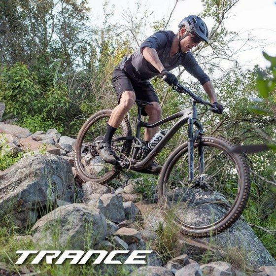 Giant Trance Trail Bike.
