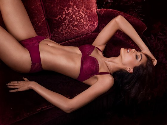 Change Lingerie - Mariah 3/4 Padded with Hipster String - European Lingerie in Singapore.