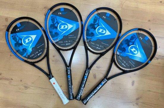 Dunlop FX 500 Series Tennis Rackets - Sports Report.