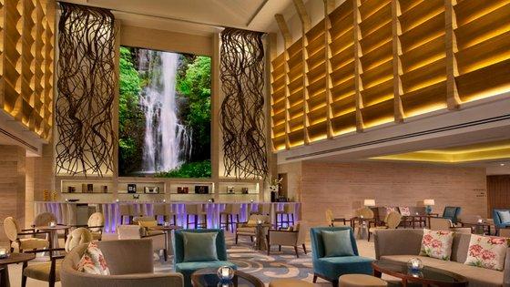 Equarius Lounge Bar in Singapore - Equarius Hotel.