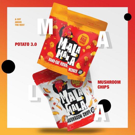 Mala Snacks in Singapore - Mala Mala Chips.