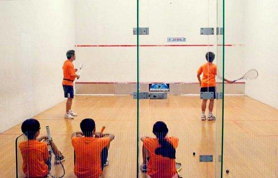 Squash Lessons in Singapore - Zainal Abidin Elite Squash Academy.