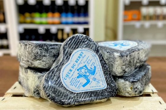 French Coeur du Berry Cheese - Gourmet Cheeses in Singapore.