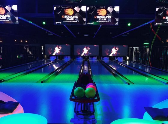 Cosmic Bowling Centre in Singapore - K Bowling Club - 313@Somerset.