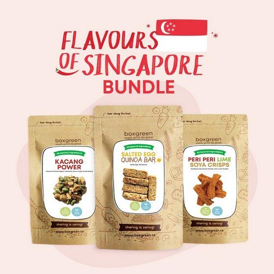 Health Vending Machine Foods in Singapore - Boxgreen.