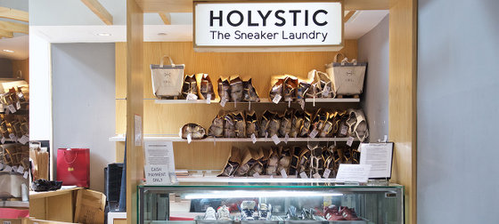Holystic Sneaker Laundry in Singapore - Wheelock Place.
