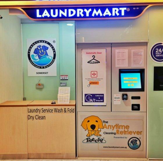 Laundry Service in Singapore - Laundrymart - TripleOne Somerset.