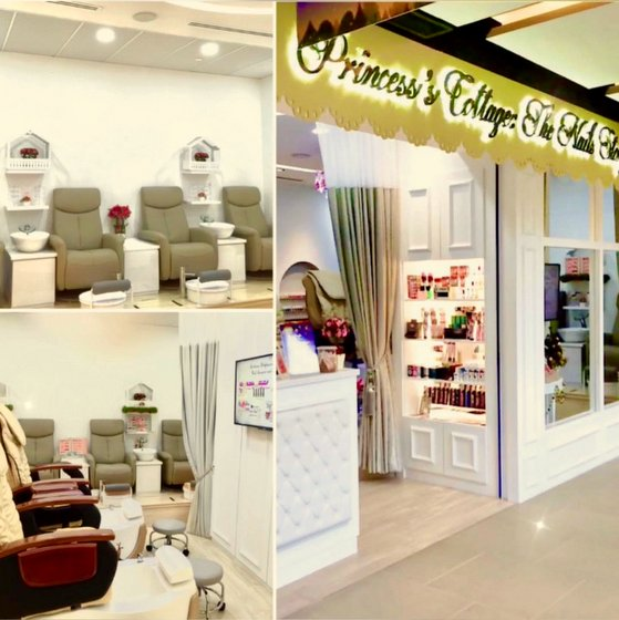 Nail Salon in Singapore - The Seletar Mall - Princess's Cottage: The Nails Story.
