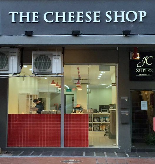 The Cheese Shop - Gourmet Cheeses in Singapore - 267 Joo Chiat Road.