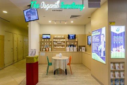 The Organic Sanctuary Singapore - Chinatown Point.