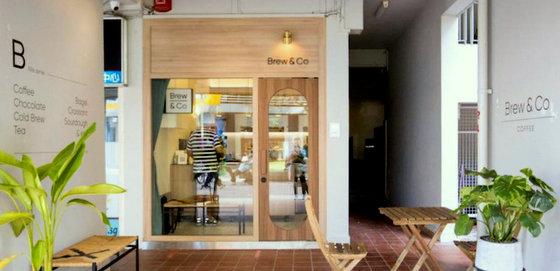Brew & Co. Coffee Bar in Singapore.
