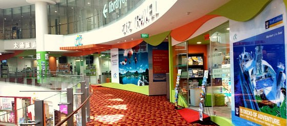 CTC Travel Agency in Singapore - Chinatown Point.