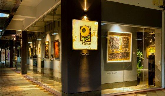 G Art Gallery in Singapore - Bras Basah Complex.