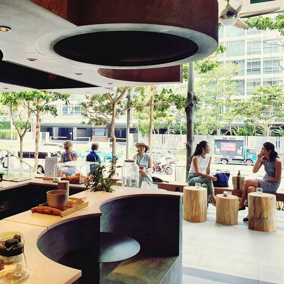 Grace Espresso Cafe in Singapore.